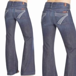 • 7 For All Mankind • Dojo Flare Jeans New Nolita
